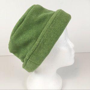 Lands' End Light Green Fleece Bucket Hat